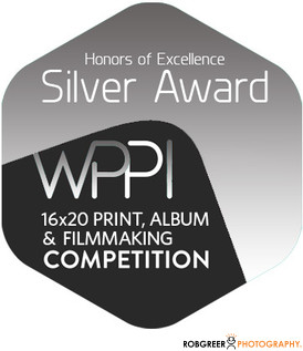 Silver WPPI 16x20 Print, Album, & Filmmaking Competition Badge
