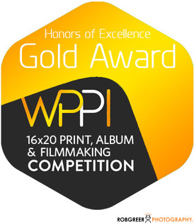 Gold WPPI 16x20 Print, Album, & Filmmaking Competition Badge