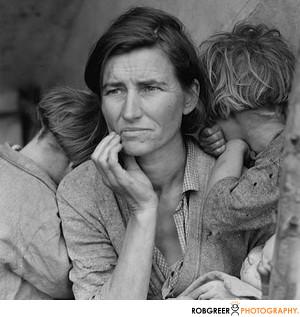 Dorthea Lange Migrant Mother