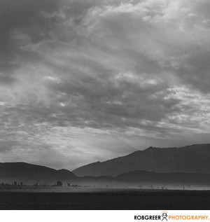 Ansel Adams Sand Storm