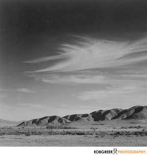 Ansel Adams Mountain Range