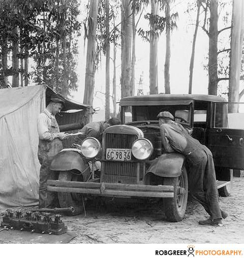 Dorthea Lange Car Repair