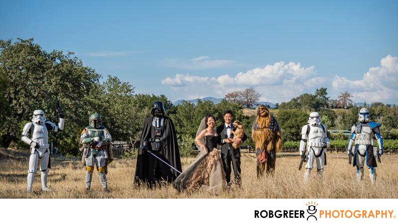 Best Star Wars Wedding Ever