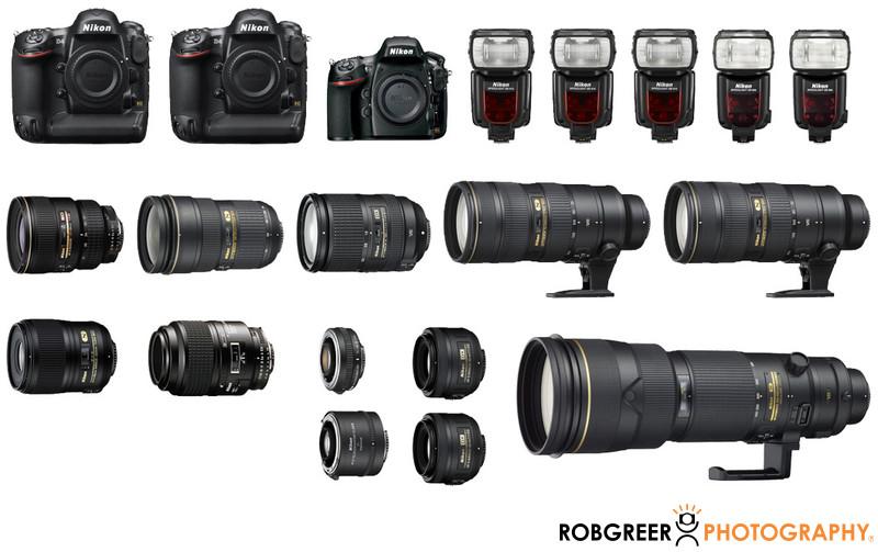 Nikon Camera Equipment