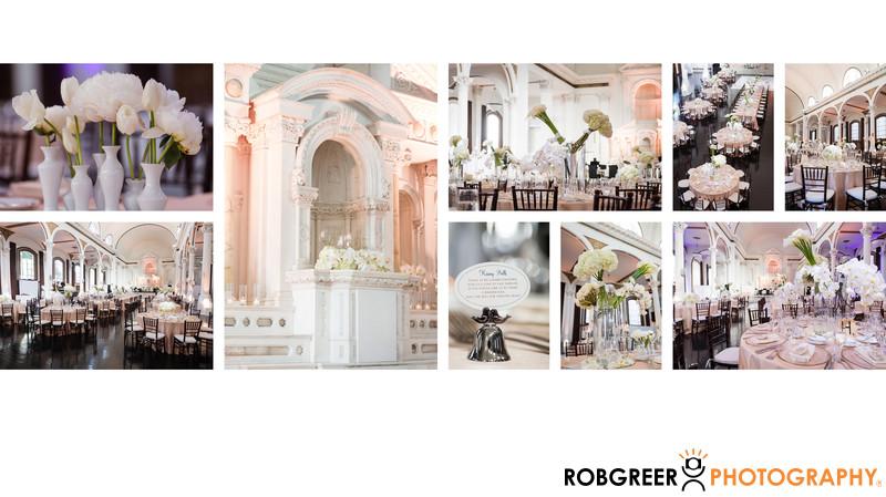 Wedding Reception Details for Vibiana Wedding