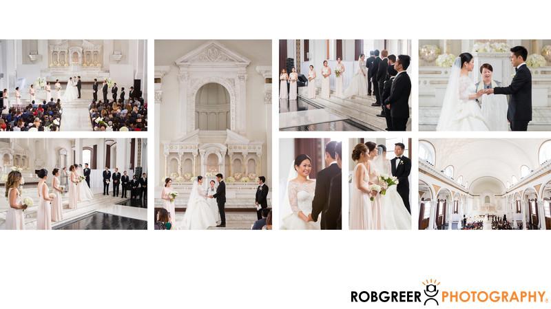 Marriage Rituals at Vibiana Wedding