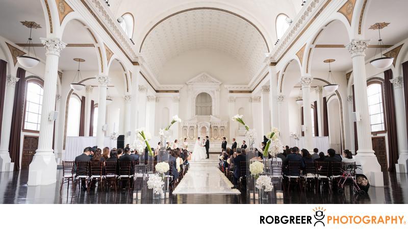 Wedding Ceremony at Vibiana