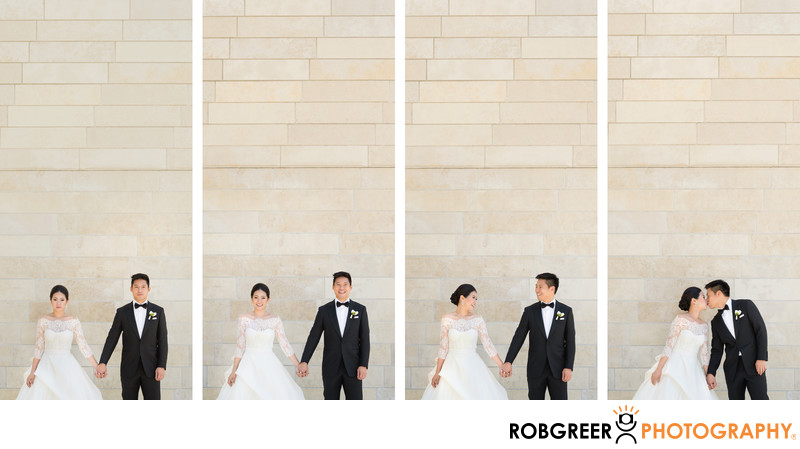 Sequence of Bride & Groom Portraits