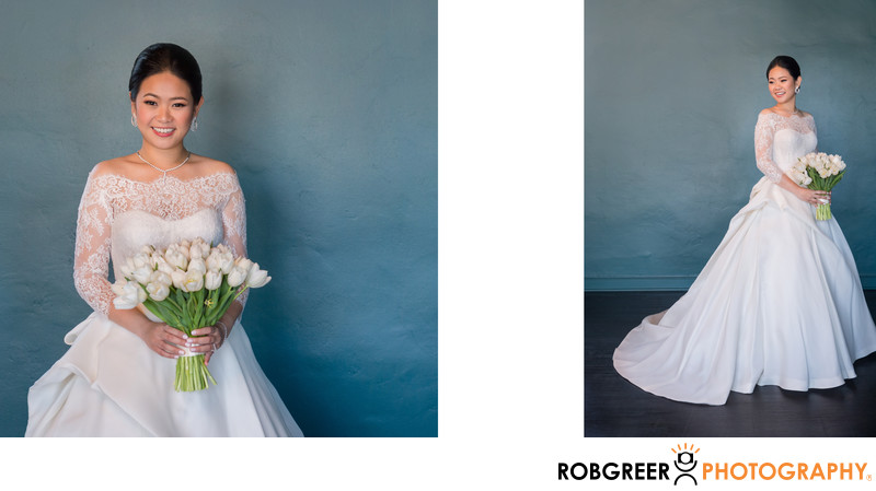 Bridal Portraits at Vibiana