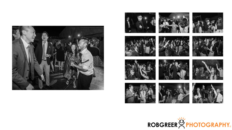Dance Party at Sunstone Winery Reception
