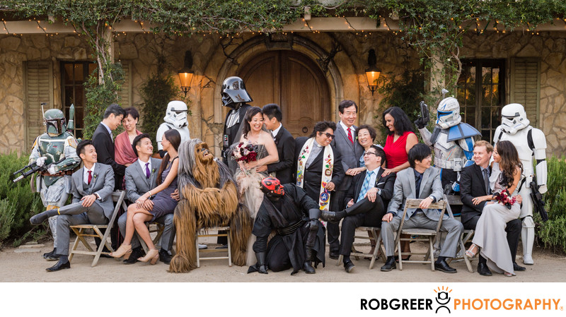 Vanity Fair Inspired Star Wars Family Portrait