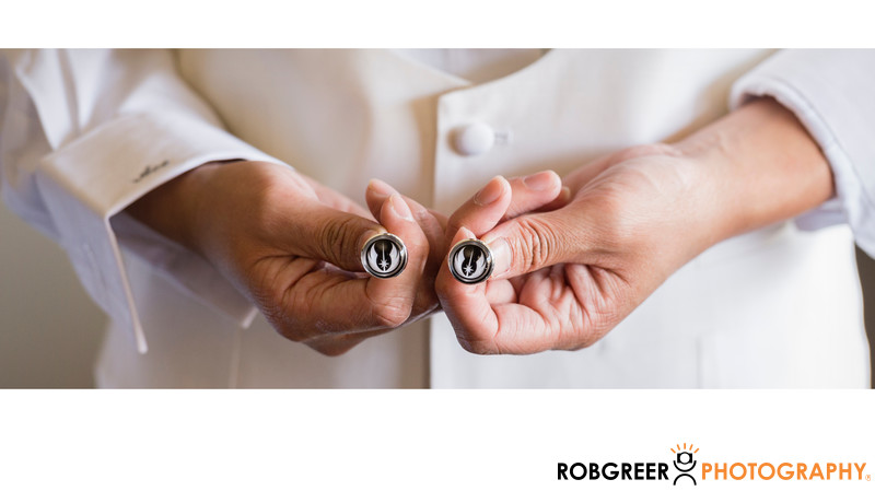 Star Wars Rebel Alliance Wedding Cufflinks