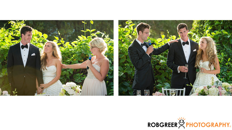 Maid of Honor and Best Man Speeches