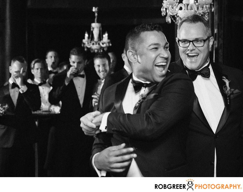 Gay Wedding Reception at Riviera Palm Springs Club