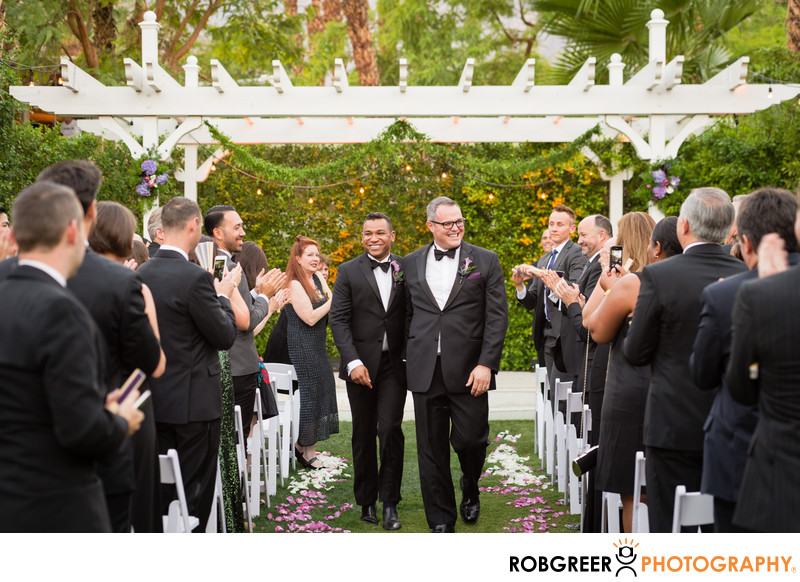Amazing Gay Wedding at Riviera Palm Springs Hotel