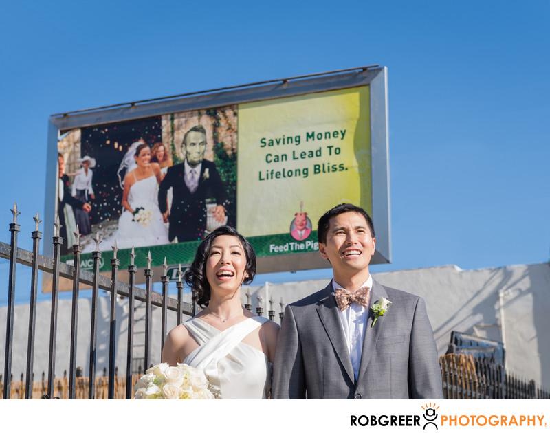 Funny Wedding Photography at Huron Substation
