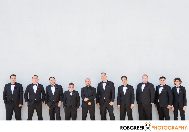 Groomsmen at The Fox Theater