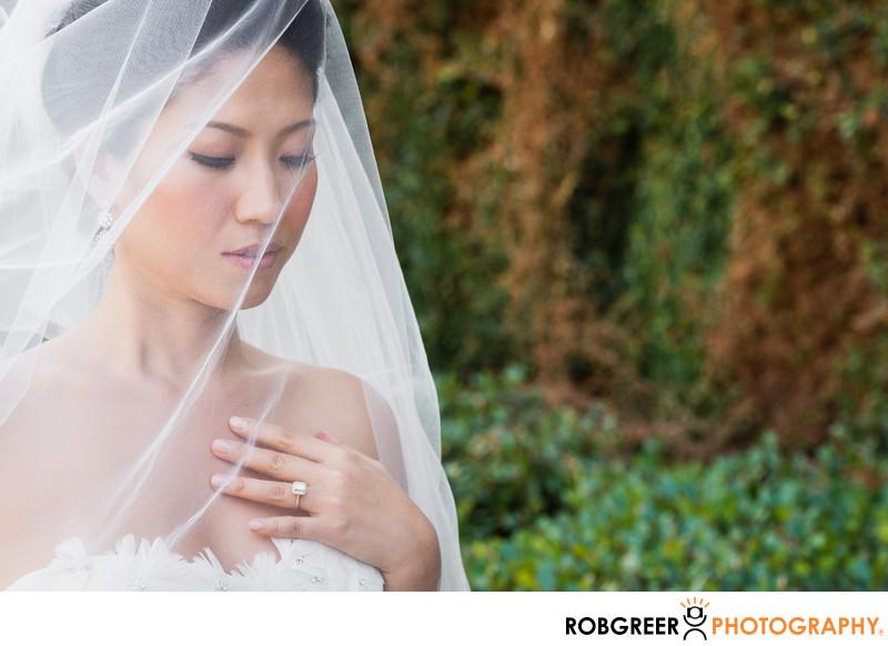 Peaceful Pasadena Bride at Ambassador Mansions