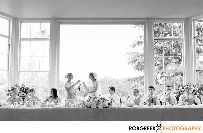 Altadena Town & Country Club Wedding Reception Toast