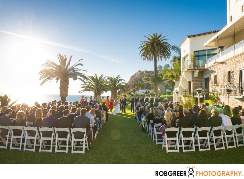 Bel-Air Bay Club Wedding Ceremony