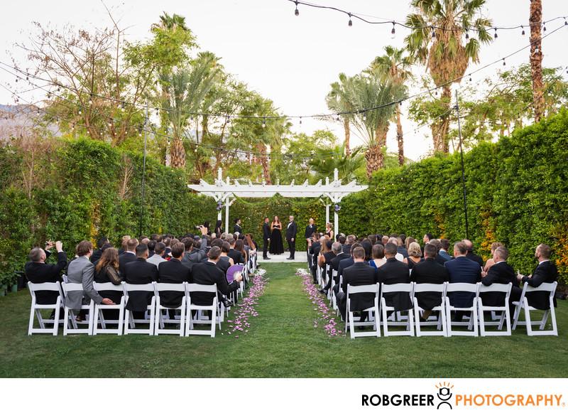 Riviera Palm Springs Wedding Photographer
