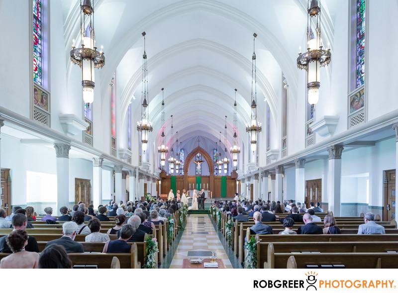 Chapel at Loyola Marymount Wedding Photographer