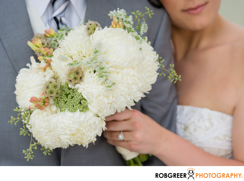 Walt Disney Concert Hall Wedding Flowers