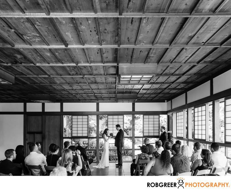 Japanese Garden Wedding Photographer
