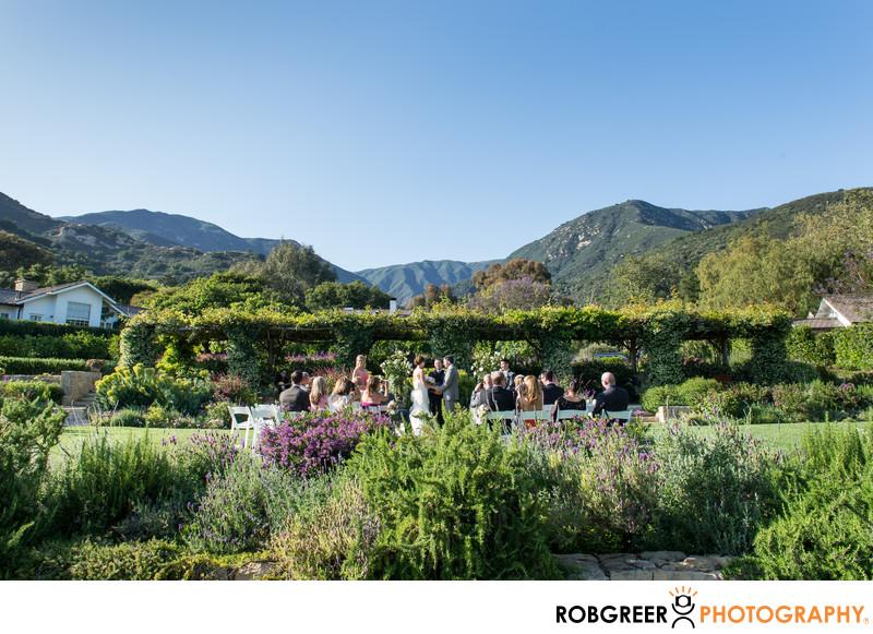 San Ysidro Ranch Wedding Photographer