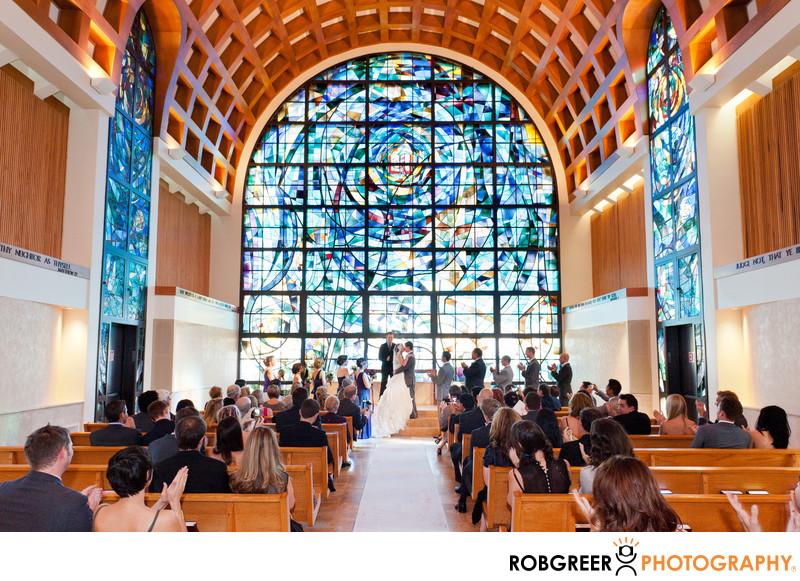 Pepperdine University Stauffer Chapel Wedding Photo