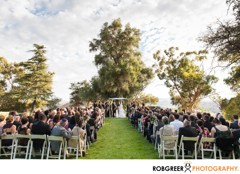 Upper Las Virgenes Canyon Wedding Photographer