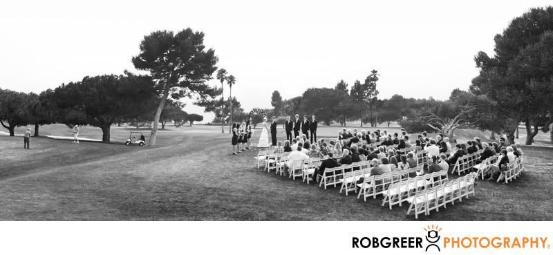 Los Verdes Golf Course Wedding Ceremony Photography