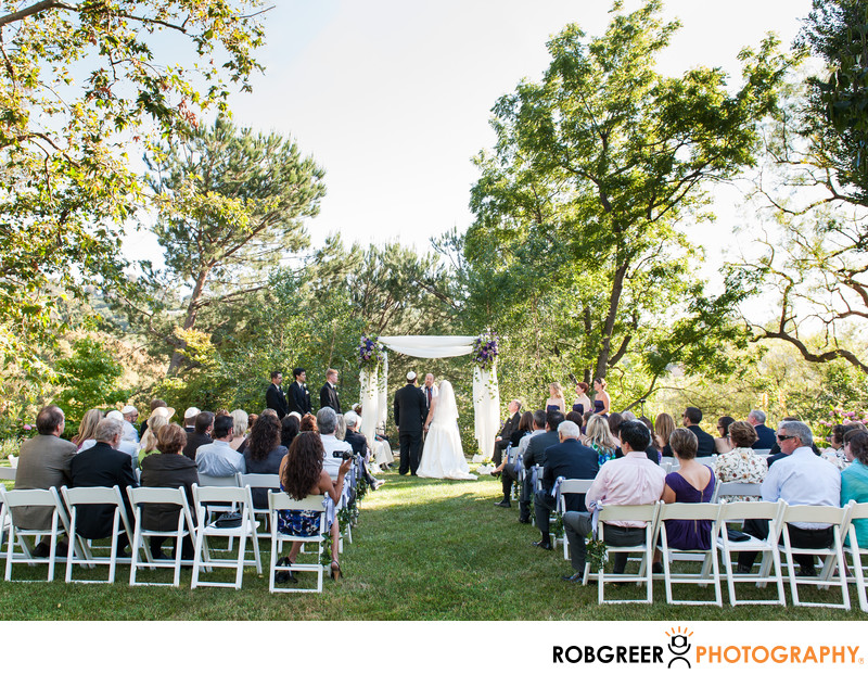 Ceremony by Rolling Hills Wedding Photographer