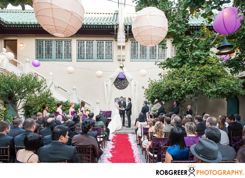 Pacific Asia Museum Wedding Photographer