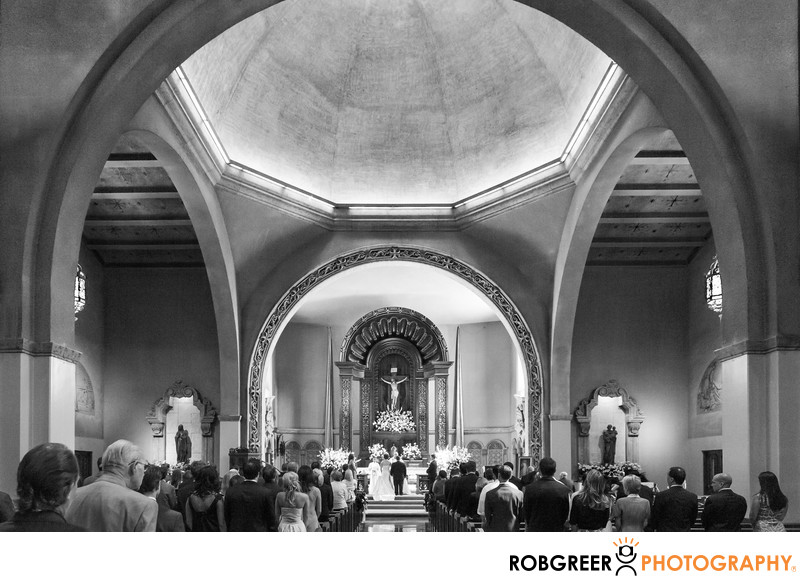 St. Charles Borromeo Church Wedding Photographer