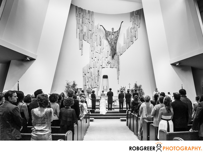 St. Rita Catholic Church Wedding Photographer