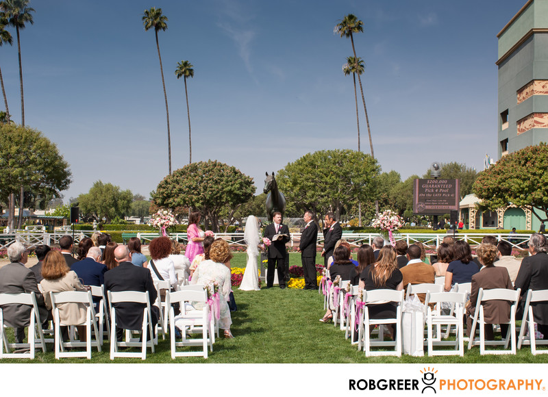 Santa Anita Park Wedding Photographer
