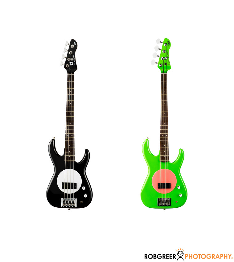 Guitar Product Photographer on White Background