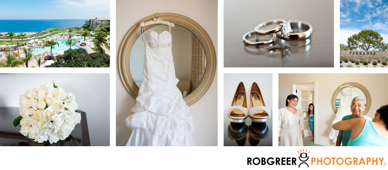 Details at Terranea Resort Wedding