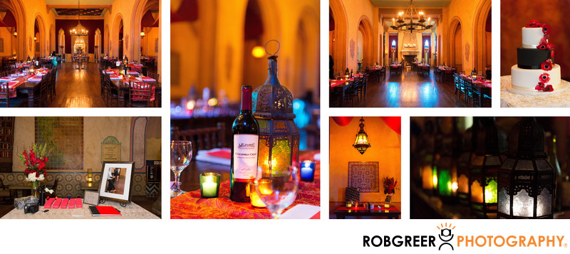 Figueroa Hotel Wedding Reception Details