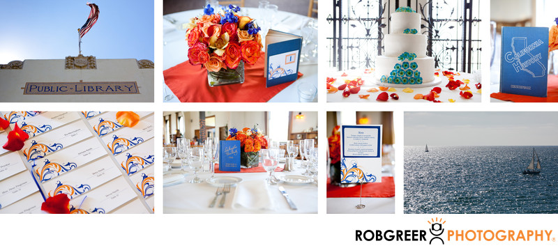 Redondo Beach Historic Library Wedding Details