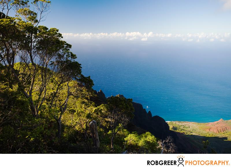Kalalau Lookout in Kauai
