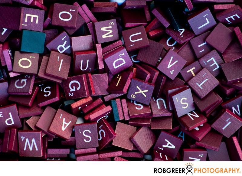 Red Scrabble Tiles