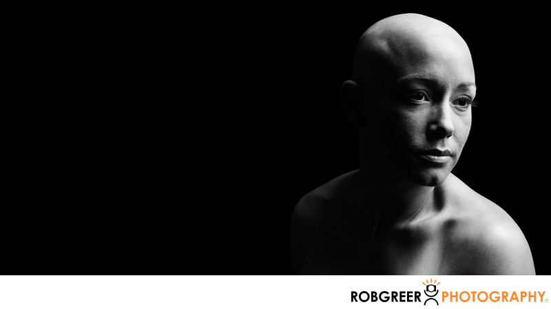 Chiaroscuro Portrait of Double Mastectomy Patient