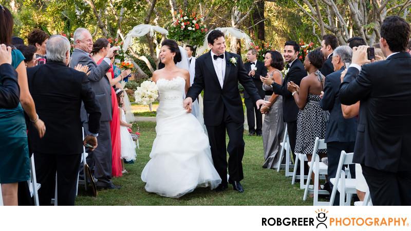 Ambassador Mansions & Gardens Wedding Recessional
