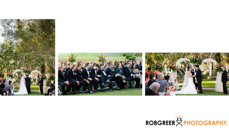 Ambassador Mansions Wedding Ceremony Photographs