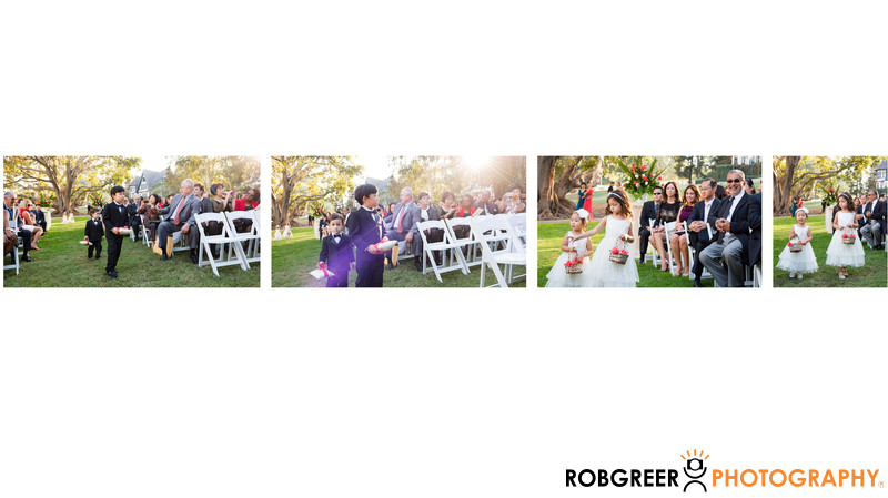 Flower Girls and Ring Bearers in Wedding Ceremony