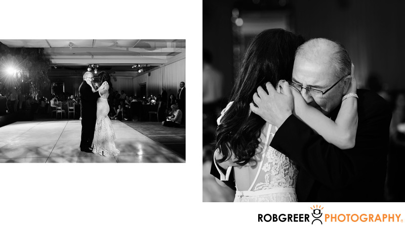 Father Daughter Dance at SLS Beverly Hills Reception