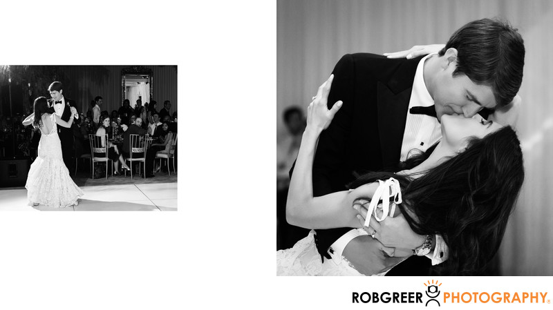 Bride & Groom First Dance at SLS Wedding Reception
