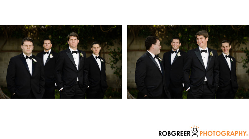 Groomsmen Portrait at Beverly Gardens Park
